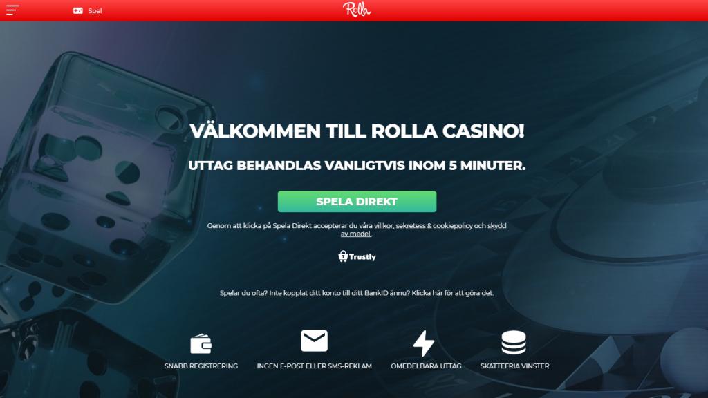 Rolla Casino bonus