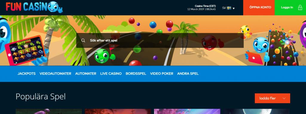 Fun Casino Spel