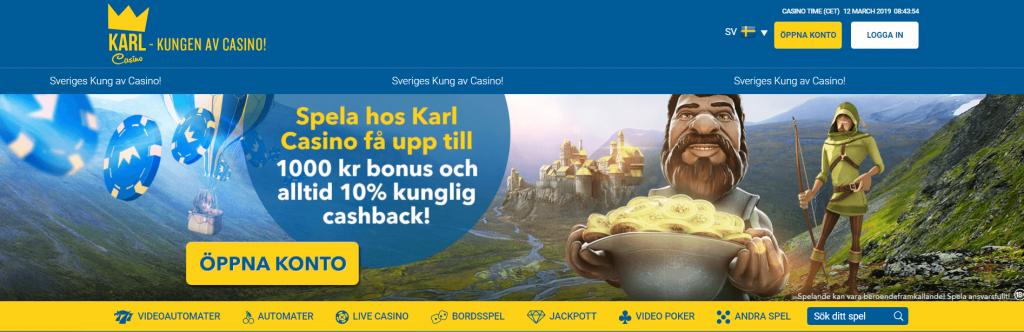 Karl Casino Bonus