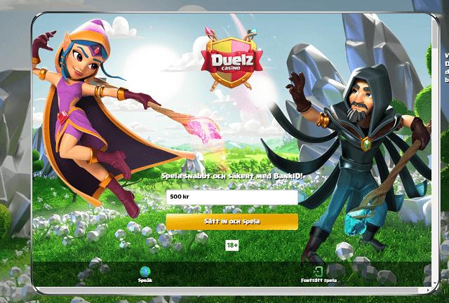 Duelz Casino Bonus