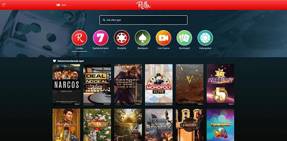 Rolla Casino spel