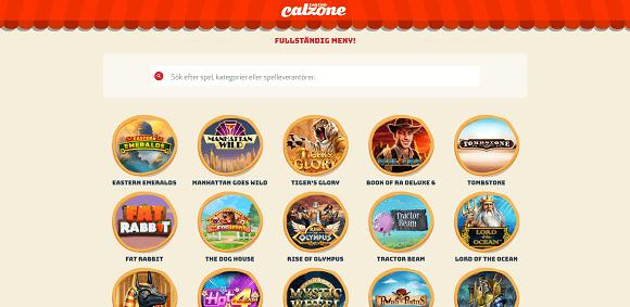 Calzone Casino Spel