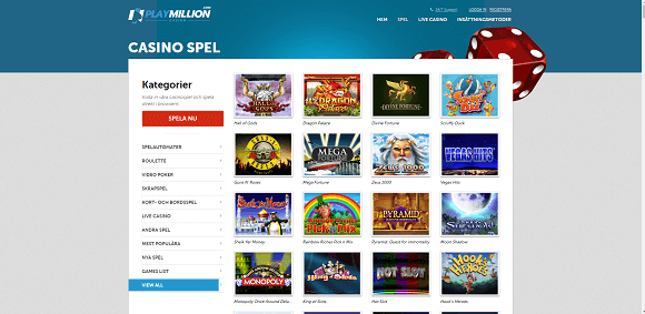 PlayMillion Spel