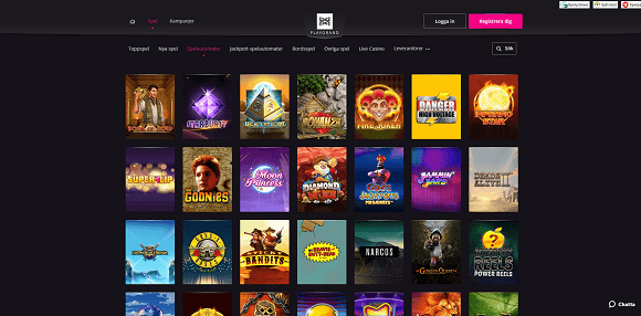 Playgrand Casino Spel