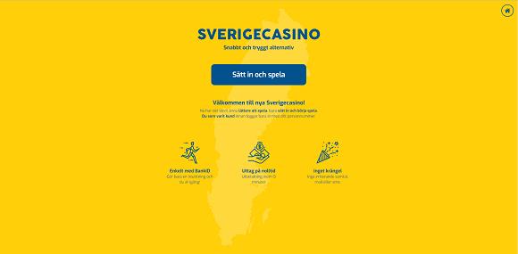 SverigeCasino Bonus