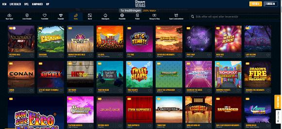 Dream Vegas spel
